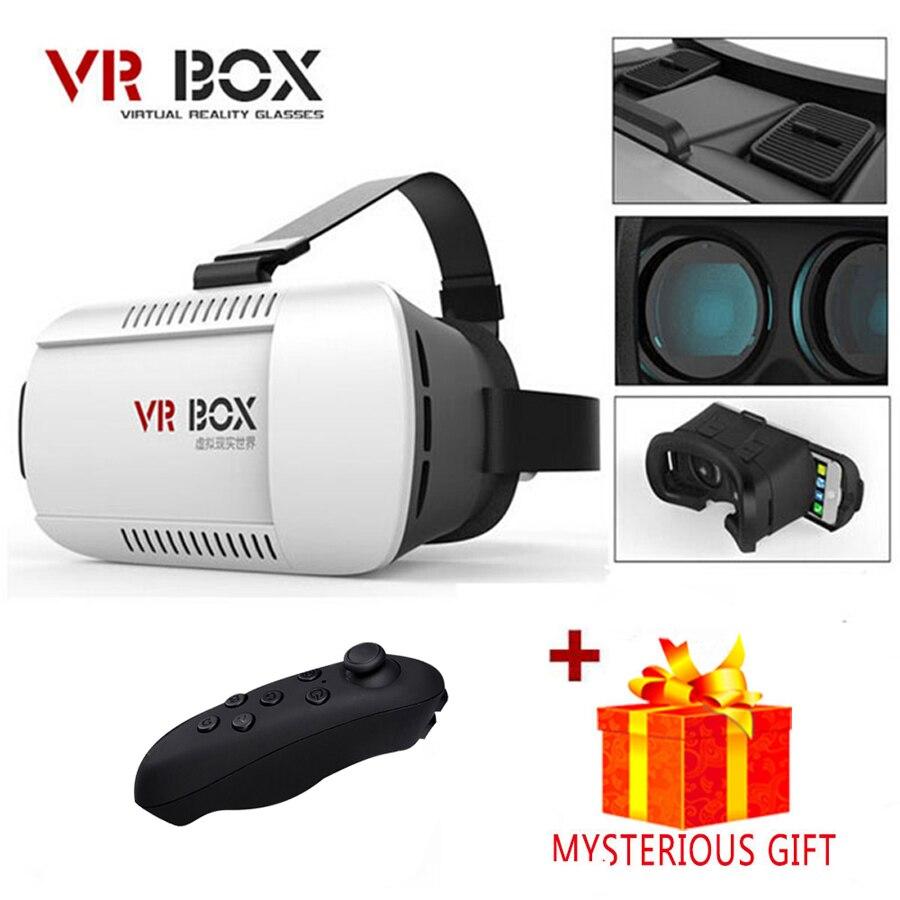 Casque 3 D Vrbox VR Box 3D Virtual Reality Glasses Goggles Headset Helmet For Smart Phone Smartphone Lense Lens Google Cardboard