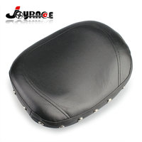 Universal Motorcycle Leather Studded Sissy Bar Backrest Cushion Pad Chopper For Harley Davidson