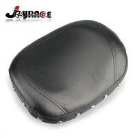 Universal Motorcycle Leather Studded Sissy Bar Backrest Cushion Pad Chopper For Harley Davidson