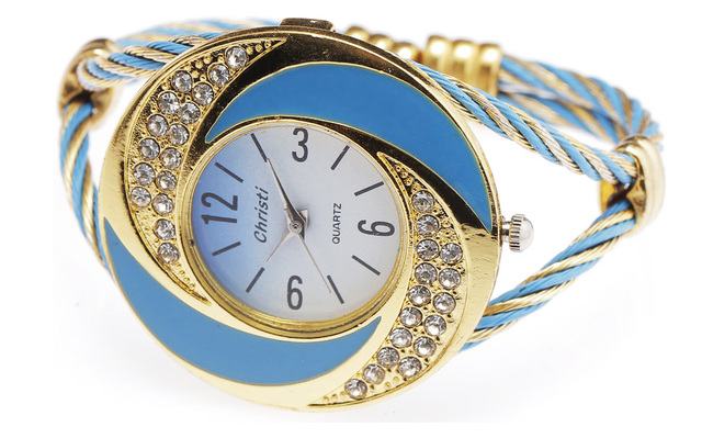 New Fashion Women Female Steel Special Rhinestone Clock Bracelet Watches Classic Cute White Ladies Luxury Wrist Quartz Watch