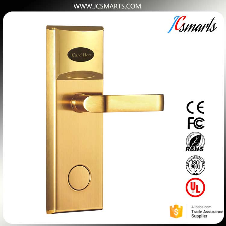 Zinc alloy door handle lock hotel door lock with IC card board for hotel room access security european fashion glass crystal live room book room door handles amber white indoor lock mechanical handle lock bearing lock body
