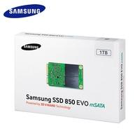 Samsung Internal SSD 850 EVO MSATA SATA III 250GB 500GB 1T Solid State Drive HD Hard