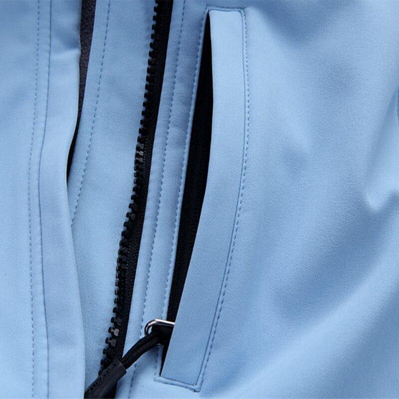 Amovible vent Femmes Vestes Composite Automne Blue Veste Printemps Arrivée Tissu Coupe Nouvelle Capuche Imperméable 2018 khaki Manteau qfPB8