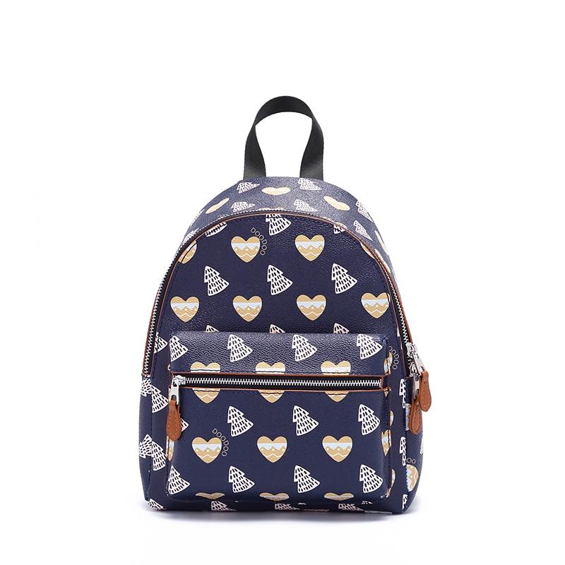2019 automne et hiver modèles marée coréenne sauvage sac à bandoulière mode imprimé sac de voyage étudiant sac à dos imprimé PU femmes sacs