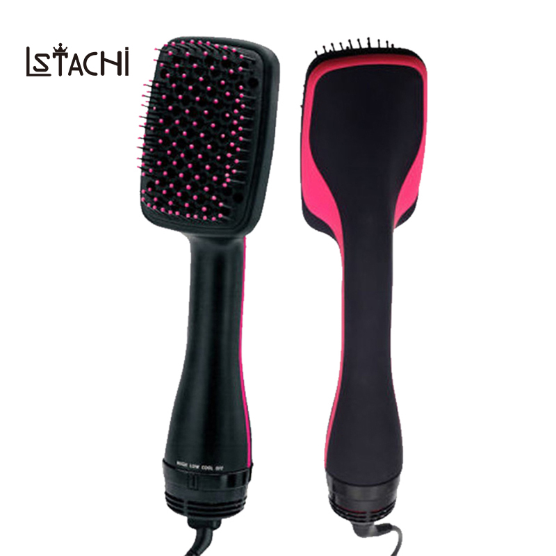 LSTACHi Professional Hair Dryer Brush Multi Function Electric Hair Blow Dryer Brush Hot Air Hair Curls Comb Salo Hair Styler