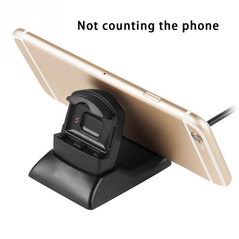 2 en 1 Chargeur Support De Charge Avec Support de Téléphone portable De Charge de Bureau Dock Station Pour Fitbit Blaze de Remise En Forme Intelligente Montre