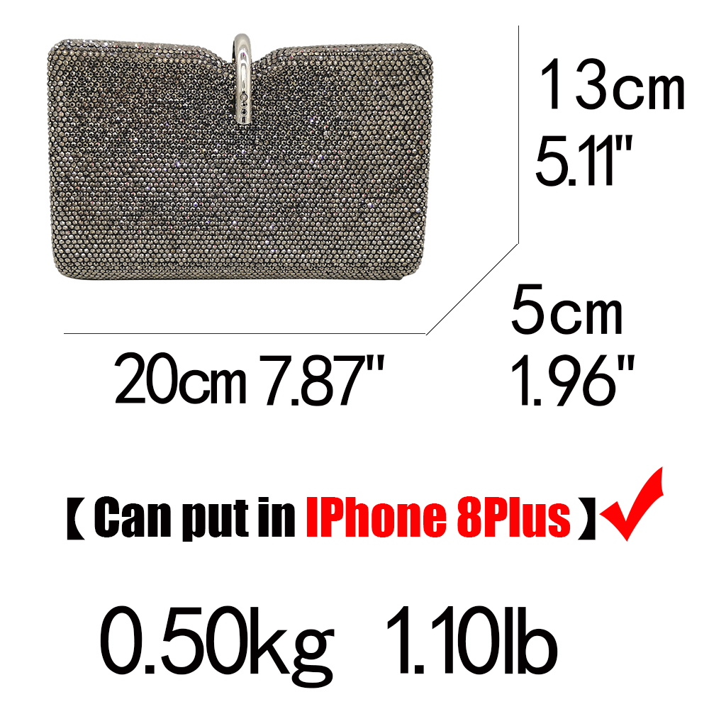 Crystal Clutch Evening Bags (35)