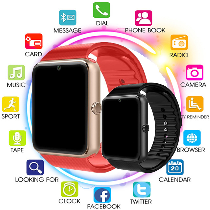 Smart Watch GT08 For Apple Watch Men Women Android Wristwatch Smart Electronics Smartwatch With Camera Support SIM TF Card PK Y1Smart Watch GT08 For Apple Watch Men Women Android Wristwatch Smart Electronics Smartwatch With Camera Support SIM TF Card PK Y1
