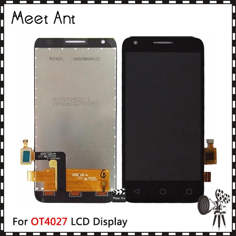 Hohe Qualität 4,5 ''Für Alcatel One Touch Pixi 3 4027D 4027X 4027A OT4027 LCD Display Mit Touch Screen digitizer Montage