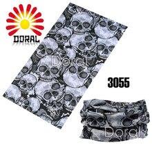 High Quality 100% Polyester Microfiber 25*48cm Skull Bandana Bandana Seamless Multifunctional Turban Headband 1pc