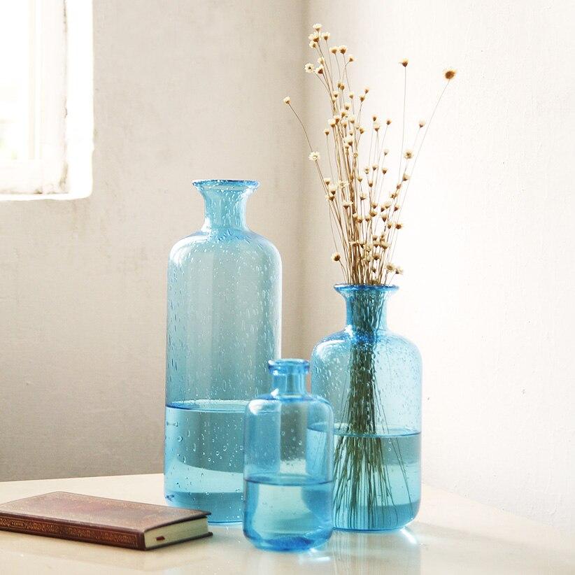 ZAKKA пузырь синий стеклянная ваза цветочные украшения дизайн домашнего интерьера пузырь гидропоники контейнер