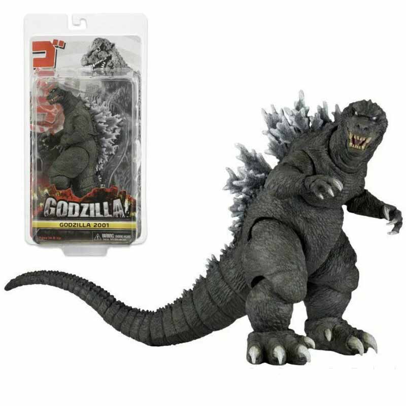 New Type Movie NECA <font><b>Godzilla</b></font> 2001 <font><b>Godzilla</b></font> Action <font><b>Figures</b></font> Toy <font><b>Classic</b></font> Toys Collectible Models Doll