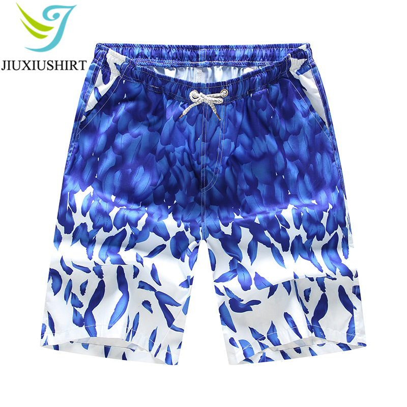 2018 Men Printed Beach   Shorts   Quick Dry Running   Shorts   Swimwear Swimsuit Swim Trunks Beachwear Sports Gym   Shorts     Board     Shorts
