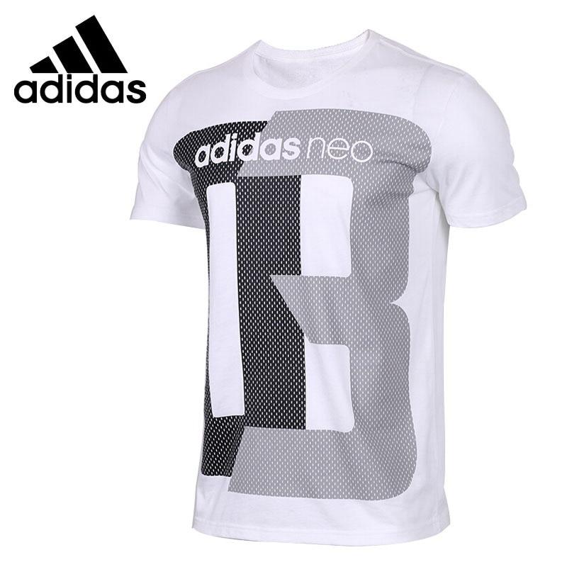 Original New Arrival Adidas NEO Label FAV TSHIRT Men s T shirts short sleeve Sportswear