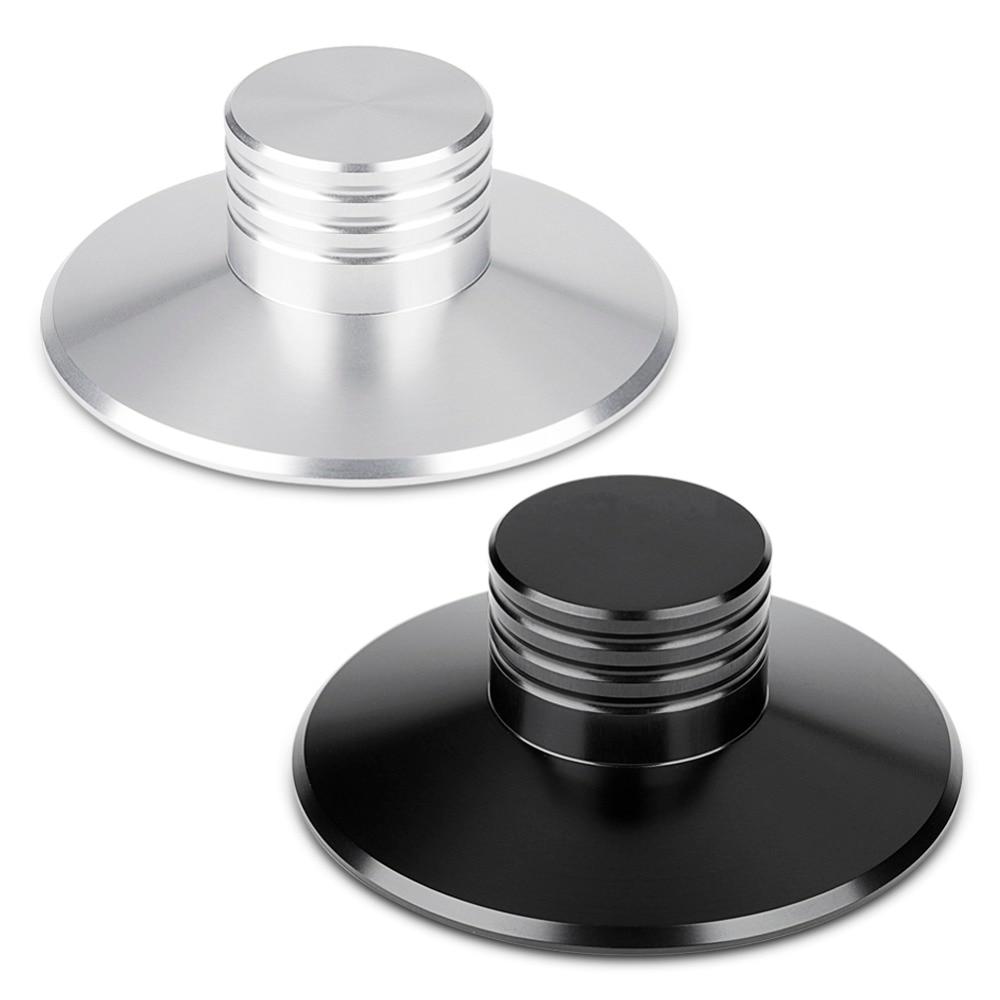 Rekord Gewicht Clamp Disc Stabilisator Plattenspieler Teil LP Vinyl Plattenspieler CD-Player Lautsprecher Metall Disc Stabilisator für Vibration Neue