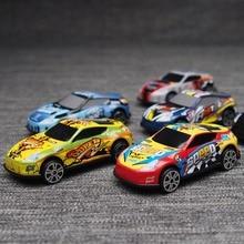 6 PCS Balap Mobil Plastik PARKIR BANYAK Mainan Roda Mini Mobil Model Anak Mainan untuk Anak