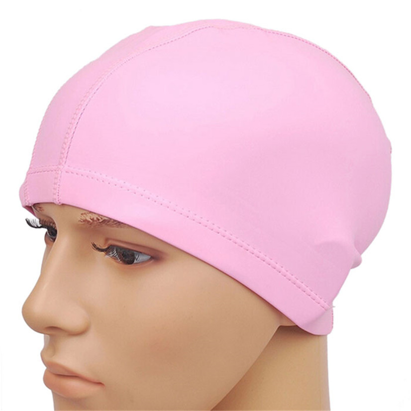 FishSunday Outdoor sports Unisex Adult PU Swim Swimming Hat Cap One Size Fit All comfortable convenient Drop shipping August1 Multan