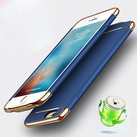 LANCASE Case for iPhone 6 Case Battery Charger Cover for iPhone 6s 7 8 Plus Backup Charger Case Shockproof Ultra Slim Thin Capa