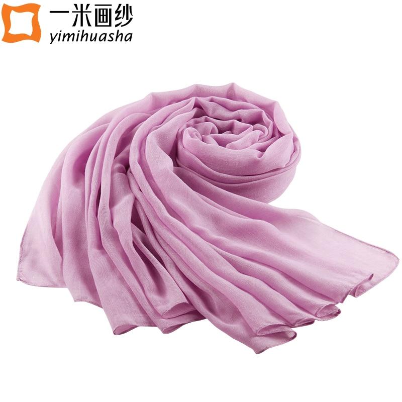 Simple solide hiver écharpe chaude pour les femmes long echarpe foulards  femme femme wraps cache-cou femelle hijab echarpes volé 180 90 cm 3c305f19547
