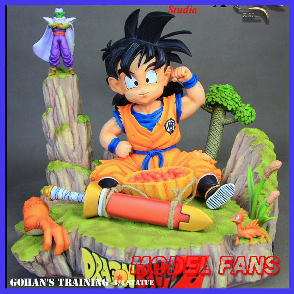 MODEL FANS IN-STOCK Dragon Ball Z MRC 30cm Son Gohan Practice gk resin statue figure toy for Collection model fans in stock dragon ball z mrc 30cm son gohan practice gk resin statue figure toy for collection