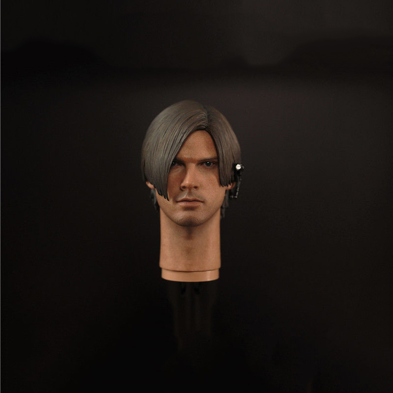 1/6 Scale Leon Scott Kennedy Male Head Sculpt Models In Resident Evil For 12 Inches Men Bodies 1 6 scale resident evil 6 leon scott kennedy full set action figure for collections
