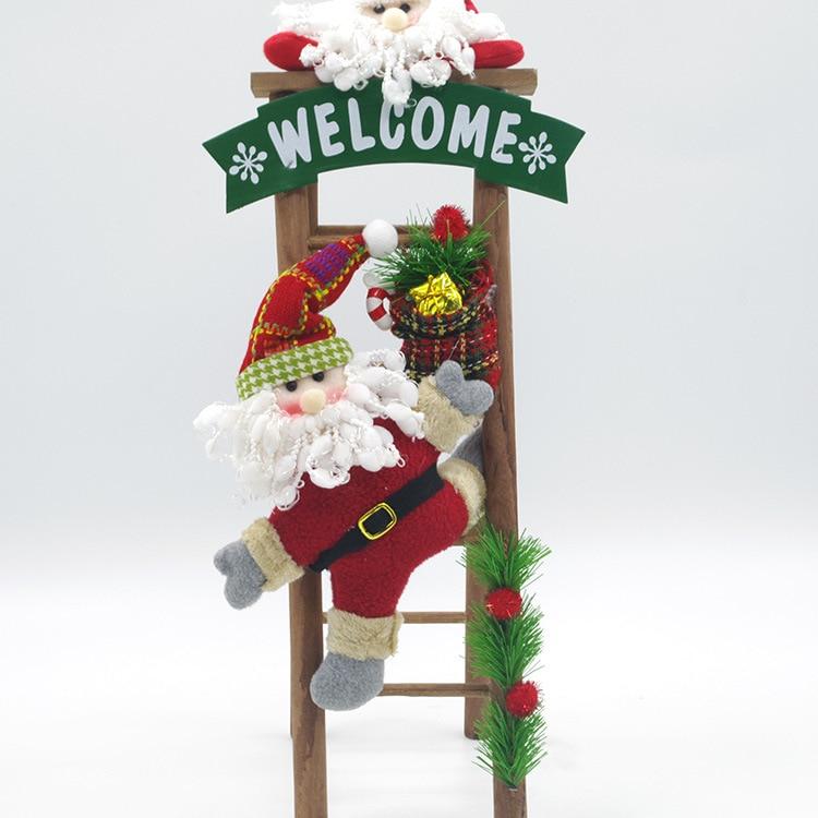 Christmas Decoration Ladder - staruptalent.com