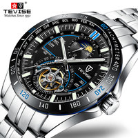 TEVISE 2019 Mechanical Watches Fashion Luxury Men's Automatic Watch Clock Male Business Waterproof relogio Wristwatch