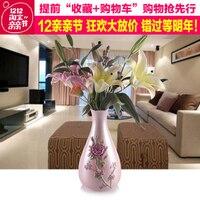 Европейский украшения стола праздник Большой ваза, ваза украшения поставки домашнего интерьера Смолы Сад современной гостиной ремесла