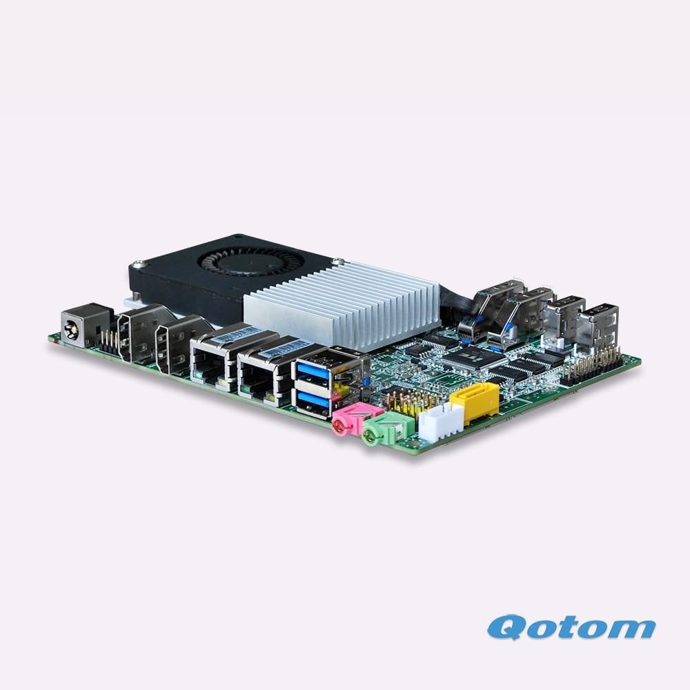 2017 Nuovo Core i5 Nano Itx board con i5 4200U Processor (3 M Cache, 2.6 GHz, Haswell), 6 * COM, 2 * Porte LAN, 6 * Porte USB, Doppio Display