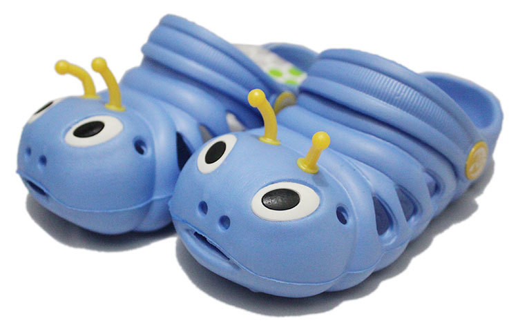 Летние от 1 до 5 лет детские сандалии мультфильм для мальчиков и девочек садовая обувь мягкая подошва детские тапочки детская обувь - Цвет: 3