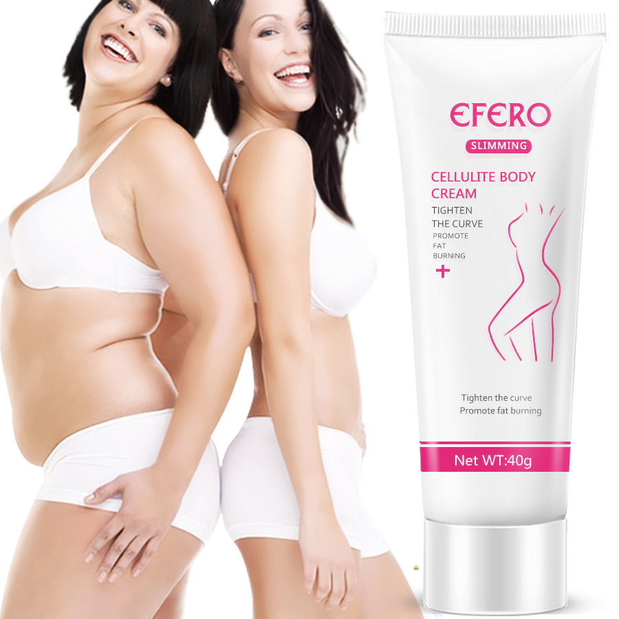 EFERO Slimming Cream Reduce Cellulite Massage Body Cream Lose Weight Burning Fat Body Care Slimming Cream Thin Waist Stovepipe
