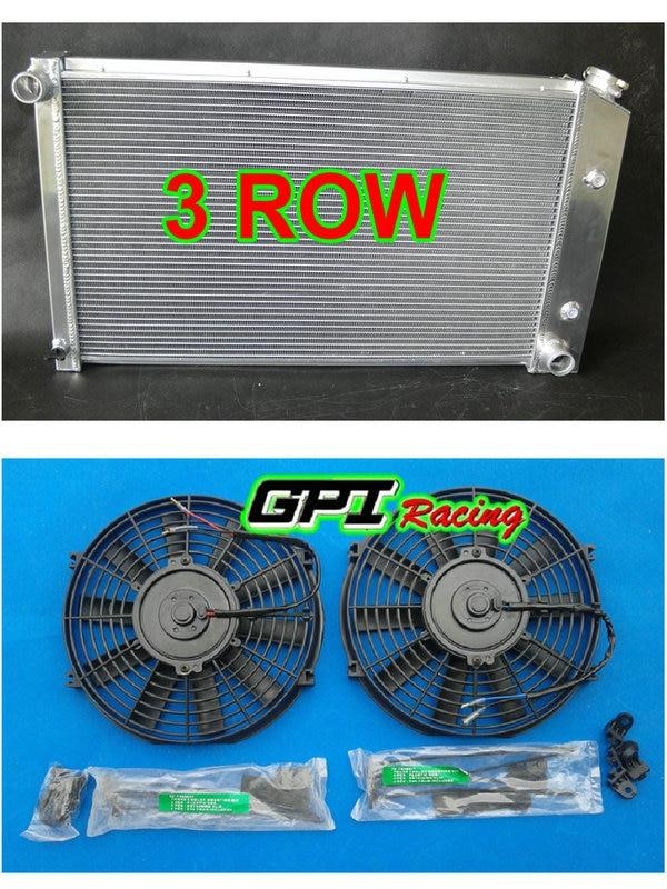 3 row for Pontiac Firebird Trans Am 1970-1981 80 79 78 77 AT Aluminum Radiator