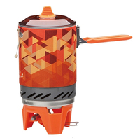 Hot Sale Fire Maple Heating Stove Heat Exchanger Pot Cooking Stove Gas Stove Outdoor Camping Cooking Stove FMS X2 Add Pot Rack