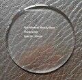 Frete Grátis 1 pc 1.0mm de Espessura 16-50mm Tamanho do Relógio de Vidro de Relógio De Cristal Mineral para Relojoeiros