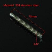 Jadkinsta 75mm longueur 3/8 adaptateur de vis de connexion pour DSLR 15mm tiges système de montage accessoires de Studio Photo