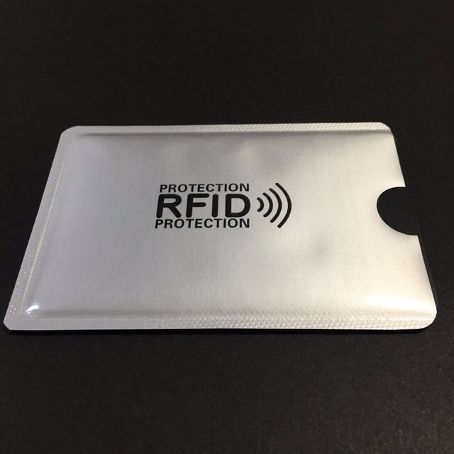 size 40 3c38e 6fb6c US $94.05 5% OFF 1000pcs Anti Scan RFID Blocking Sleeve Credit Card case to  Secure Identity ATM Debit Contactless ID Protector Holder-in Package from  ...