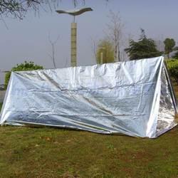 Большой размер водонепроницаемый одноразовый Открытый военный, для выживания аварийное спасательное пространство Фольга тепловое одеяло