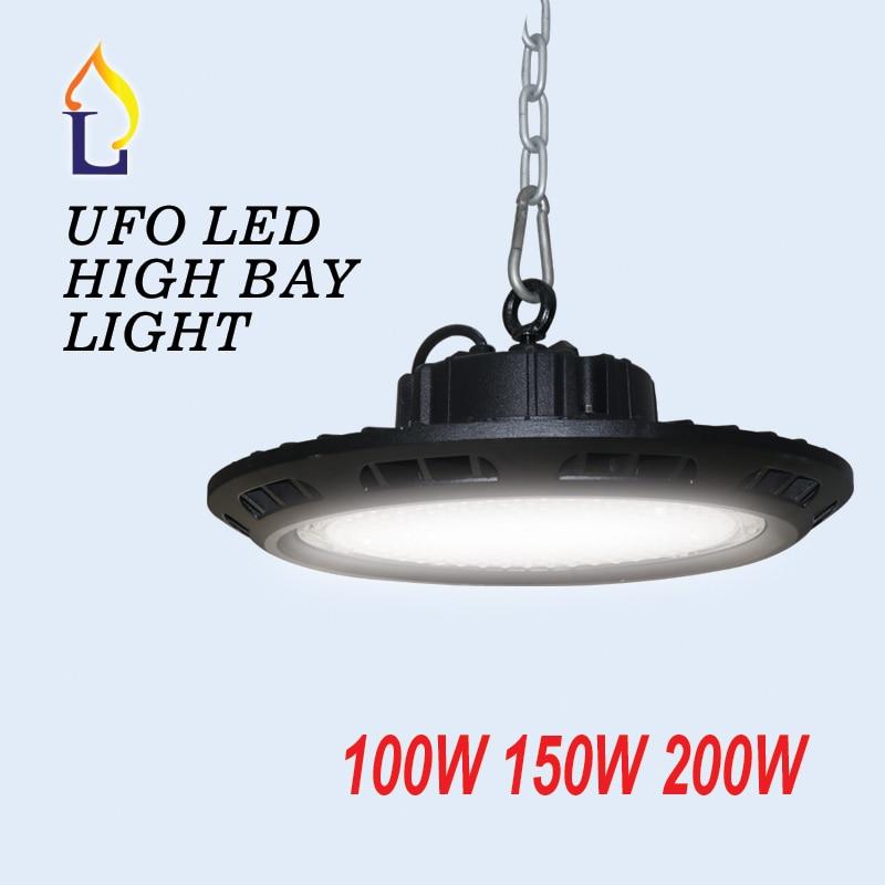 5park 100W 150W 200W IP65 led UFO high bay light in industrial lighting 100 277V outdoor LED Spotlight floodlights waterproof