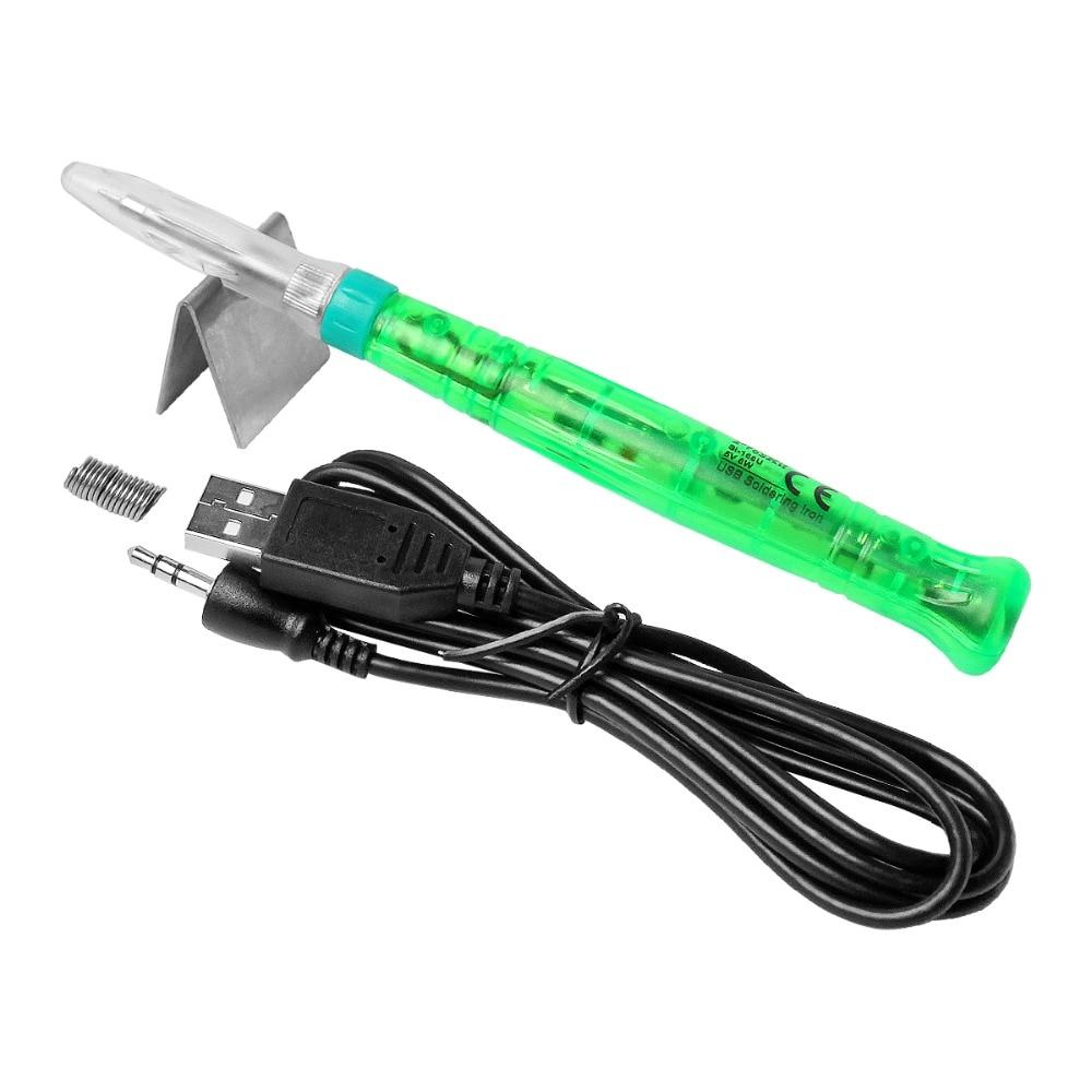 New Proskit USB powered Soldering Iron 5V USB Electric Soldering Iron Pen Welding Gun solder Mini Portable soldering matte perfecting primer