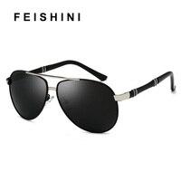 FEISHINI Оригинальный дизайн бренда драйвер человек солнцезащитных очков Винтаж УФ-защита элегантные солнцезащитные очки авиаторы Для мужчин ...