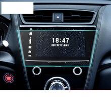 Lsrtw2017 PET Fiber HD Car Anti-scratch GPS Navigation Screen Tempered Film for Acura CDX MDX TLX-L 2000-2020 коронка алмазная skrab 33606 коронка алмазная 6мм 2шт по стеклу и кафелю