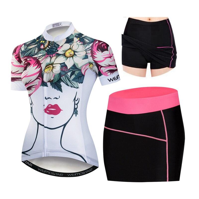 Women/'s Cycling Jersey Clothing Bicycle Sportswear Short Sleeve Bike Shirt  D26
