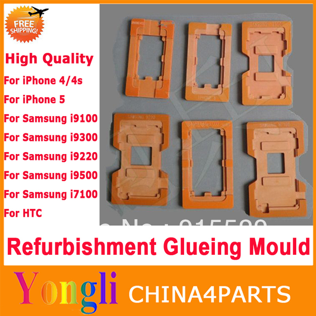 4in1 QUALIY LCD Refurbished Glass Mold Refurbishment Glueing Mould Repair For iPhone For Samsung For HTC LCD Outer Glass Lens