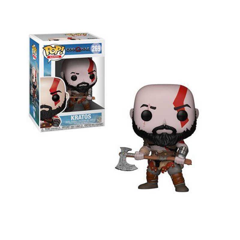 Funko pop God of War Kratos Personaggi Anime In Pvc Action Figure Collection Modello giocattoli per i bambini regalo di compleanno