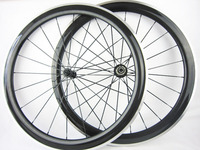 Ultra-leve de liga de fibra de carbono aro de bicicleta de estrada conjunto roda 38mm 50mm 60mm 90mm 12 K rodas 20/24 H bicicleta de estrada rodas de carbono