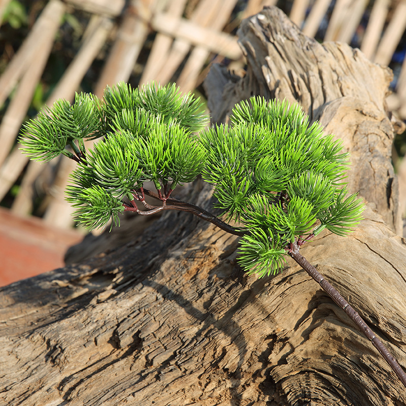 Fake Pine Tree Branches Artificial Plastic Cypress Leaves ...