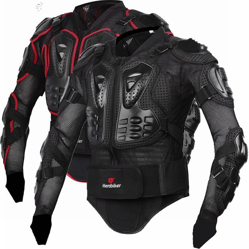 Hommes complet corps moto armure moto veste Motocross course équipement de Protection moto Protection