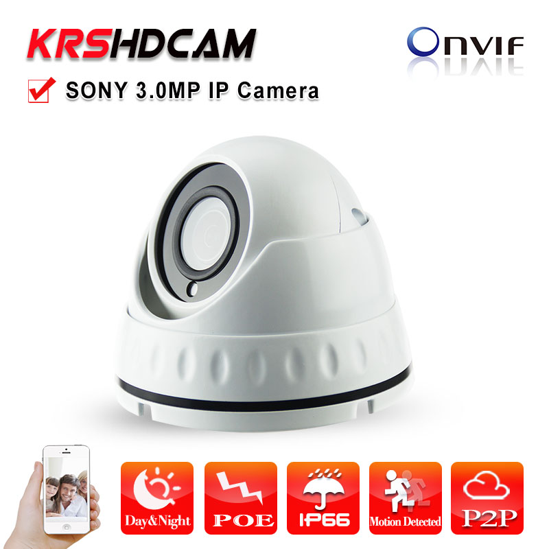 Full HD 1080P 3MP mini IP dome Camera POE P2P CCTV indoor Vandalproof Onvif 2.4 3MP lens 24LED Night Vision security camera 2pcs lot ip camera poe onvif 2 4 vandalproof dome 3 6mm lens 720p hd 1080p indoor 8m ir night vision security camera ip 2mp