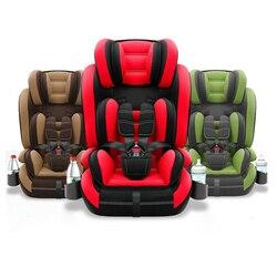 Asiento de seguridad de coche para niños 0-12 y asiento de coche portátil para bebés con arnés de cinco puntos asiento de coche para niños de 9 meses a 12 años
