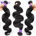 7A não transformados cabelo virgem Peruano onda do corpo do cabelo humano 4 pcs por atacado 8-30 polegadas yongtai extensões de cabelo Peruano onda do corpo